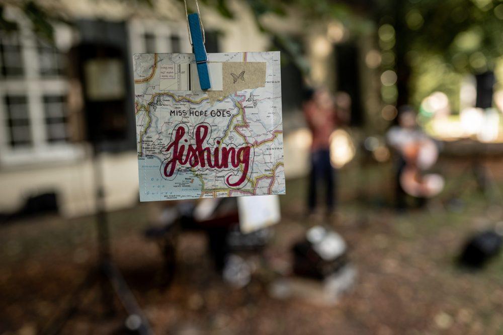 Miss Hope goes fishing / Foto: bendruecker.de